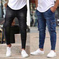 Moderne Jeans für Herren mit Seitentaschen