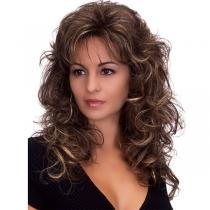 Moderne Perücke mit Lockigem Haar
