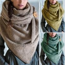 Moderner Schal mit Gemischen Farben