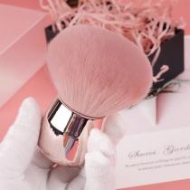 Make-Up-Pinsel inin Pilzkopfform für Puder und Rouge