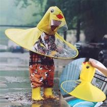 Niedlicher Regenschirm für Kinder in der Form einer Gelben Ente