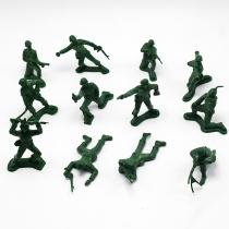 Spielzeugsoldaten im Retrostil 12 Stück / Set