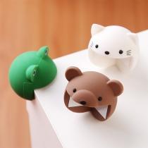 Niedlicher Schutz für Tischecken aus Silikon in Cartoon-Tierform