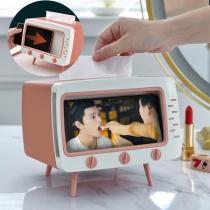 Taschentuchbox im Retrostil in Fernsehform