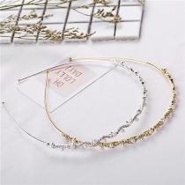 Nettes Haarband für Kinder mit Strass und Perlen