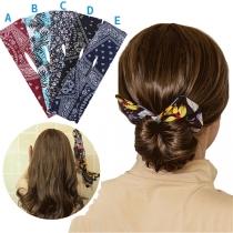 Kreative Haarschleife mit Schickem Muster 2 Stück/Set