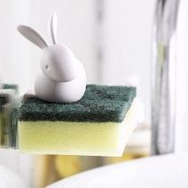 Niedlicher Küchenschwammhalter in Kaninchenform