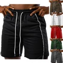Sportliche Lässige Shorts für Herren mit Elastischem Tunnelzug