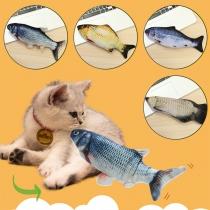Katzenspielzeug Beweglicher Fisch mit USB-Anschluss