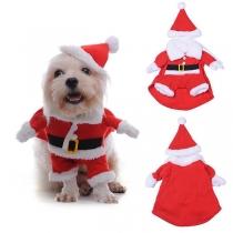 Süßes Weihnachtsoutfit für Haustiere in Kontrastierenden Farben