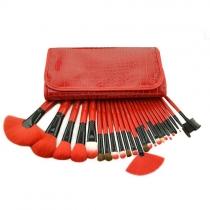 Schönheit-Makeup-Bürsten-Kosmetik-Satz mit 24 Stück und Koffer
