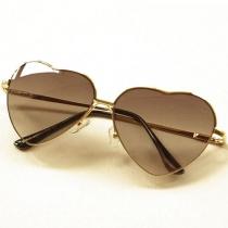 Steigungfarbe Schattierungen modische Sonnenbrillen mit Liebe Herz-Rahmen