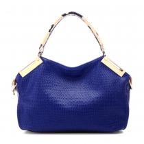 Wunderschöne stilvolle Relief-Handtasche Umhängetasche mit Diamantdruck