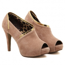 Fashion High-heeled Platform Peep Toe Stilettos Shoes