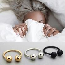 Einfacher Ring aus Aluminium