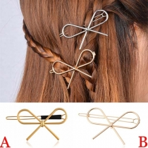 Sweet Style Bowknot Shaped Hairpin