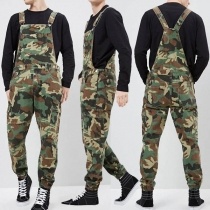 Fashion Camouflage Printed Man's Overalls