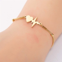 Creative Style Electrocardiogram Bracelet