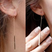 Mode Aluminiumkette 1-Anhänger Ohrringe Damenschmuck
