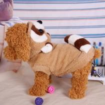 Cosplay wie Waschbär: süße Winterjacke Mantel für Hund Hündchen