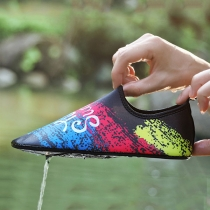 Fashion Colorful Printed Outdoor Diving Wading Shoes