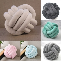 Creative Style Twisted Ball Shaped Pillow