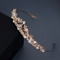 Fashion Rhinestone Inlaid Hair Band Head-wear