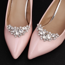 Fashion Rhinestone Inlaid Shoe Accessories