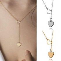 Schöne Halskette mit Herzanhänger