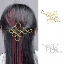 Haarnadel-Set im Retrostil in Chinesischer Knotenform