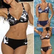 Sexy Bikini-Set mit Niedriger Taille