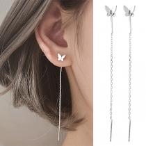 Sweet Style Butterfly Ear Line