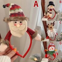 Nettes Haarband mit Weihnachtspuppen