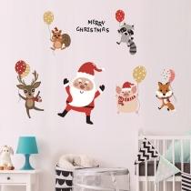 Niedlicher Weihnachtswandaufkleber