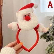 Nettes Haarband mit Weihnachtspuppe