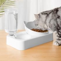 Kreativer Fressnapf für Haustiere mit Automatischem Wasserspender
