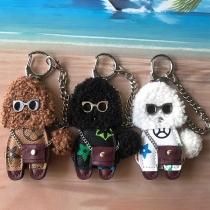 Niedlicher Schlüsselanhänger mit Teddy- Anhänger