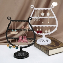 Kreativer Multifunktionaler Ständer in Weinglasform für Ohrringe