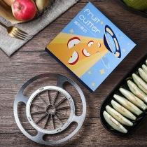Kreativer Apfel- und Obstschneider aus Edelstahl