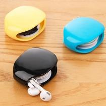 Tragbare Aufbewahrungsbox für Kopfhörer-Datenkabel Ladekabel mit Automatischer Aufwicklung
