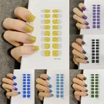 Ausverkauf Wasserfeste Nagelaufkleber