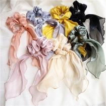Nettes Haarbänder in Volltonfarbe mit Schleifen 2 Stück / Set