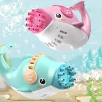 Elektrisches Spielzeug für Kinder Delphin-Seifenblasen-Maschine