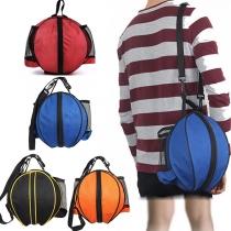 Sporttasche für Outdoor- und Indoor-Sport Fußball und Basketball