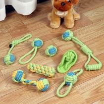 8 Stück Hundekauspielzeug aus Seil für Aggressive Kauer