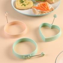 Kreative Runde/Herzförmige Silikon-Spiegeleiform
