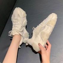 Klobige Lässige Sneakers mit Dicken Sohlen