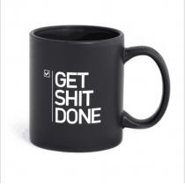 Lustige Get it DONE Becher Bürobecher Geschenk Chic Kaffeebecher