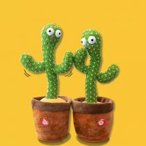 120 Lieder Tanzendes Kaktusspielzeug Singendes Kaktusspielzeug Lernspielzeug für Heimdekoration oder als Kinderspielzeug