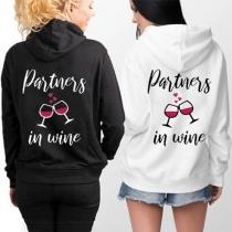 Partners in Wine' Besties Hoodie